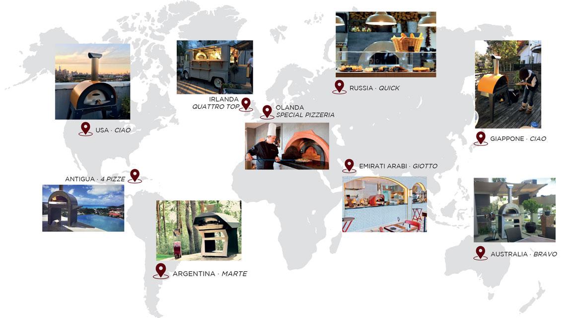 forni nel mondo